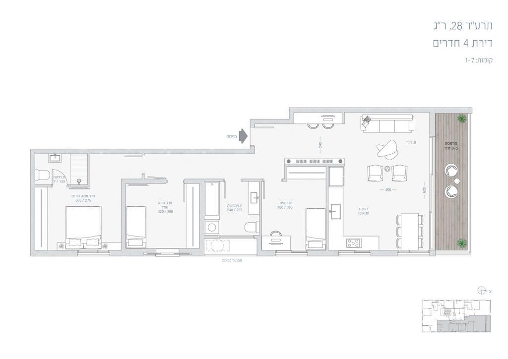 תכנית-דירת-4-חדרים-חזיתית---תרעד-28